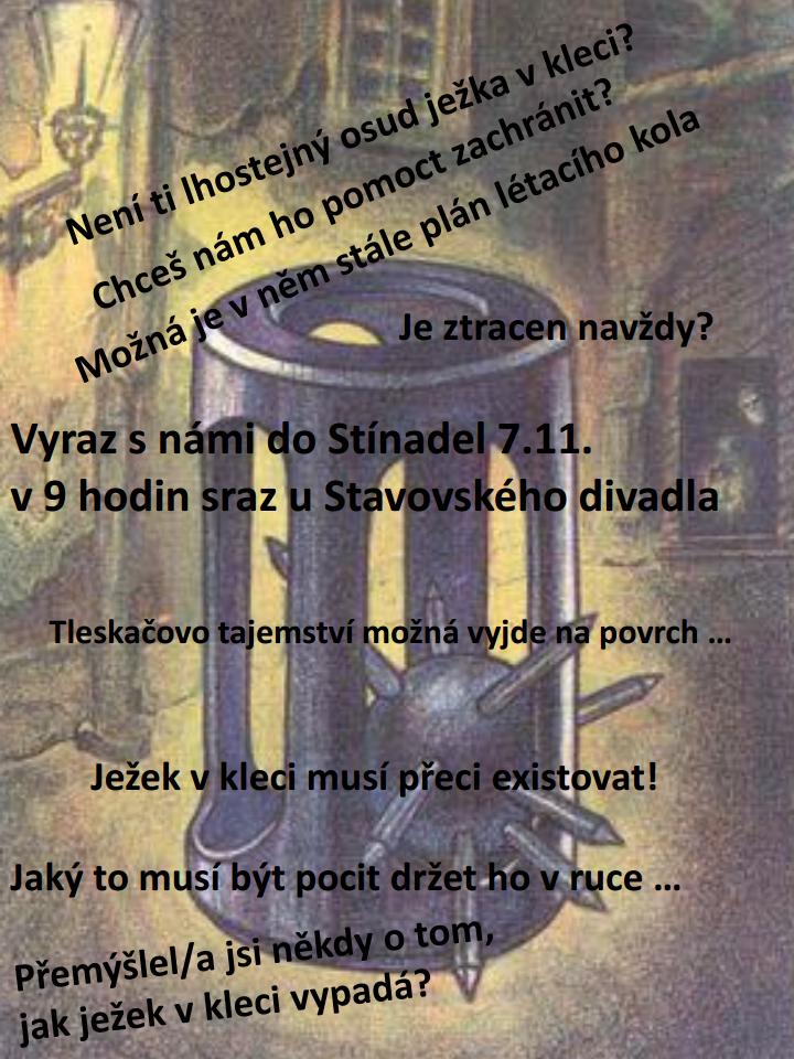 pozvánka Hra po Praze